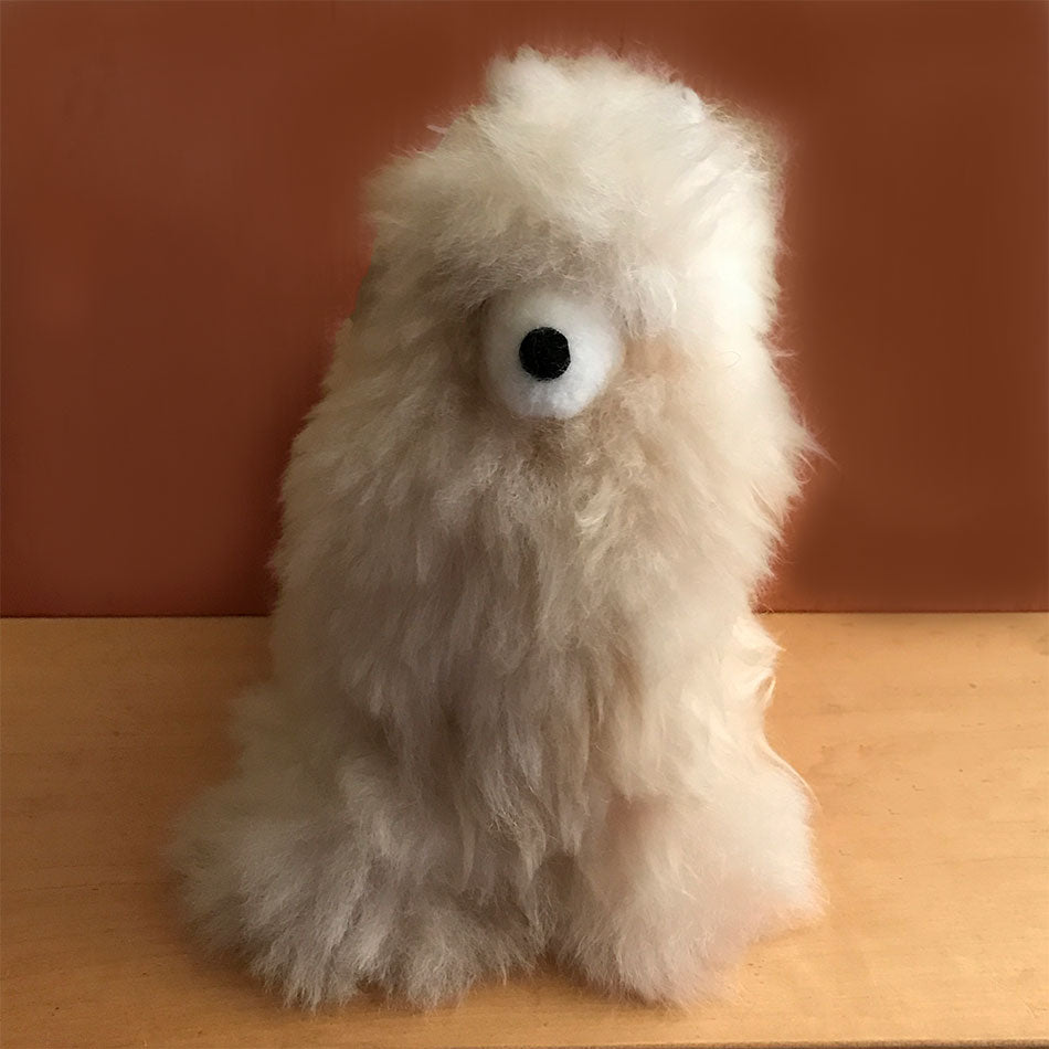 Fair trade alpaca stuffed animal handmade in Peru
