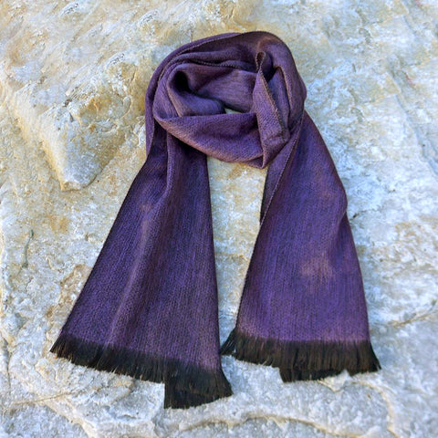 Fair trade alpaca scarf