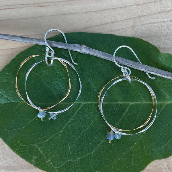 Freedom Circle Earrings, India