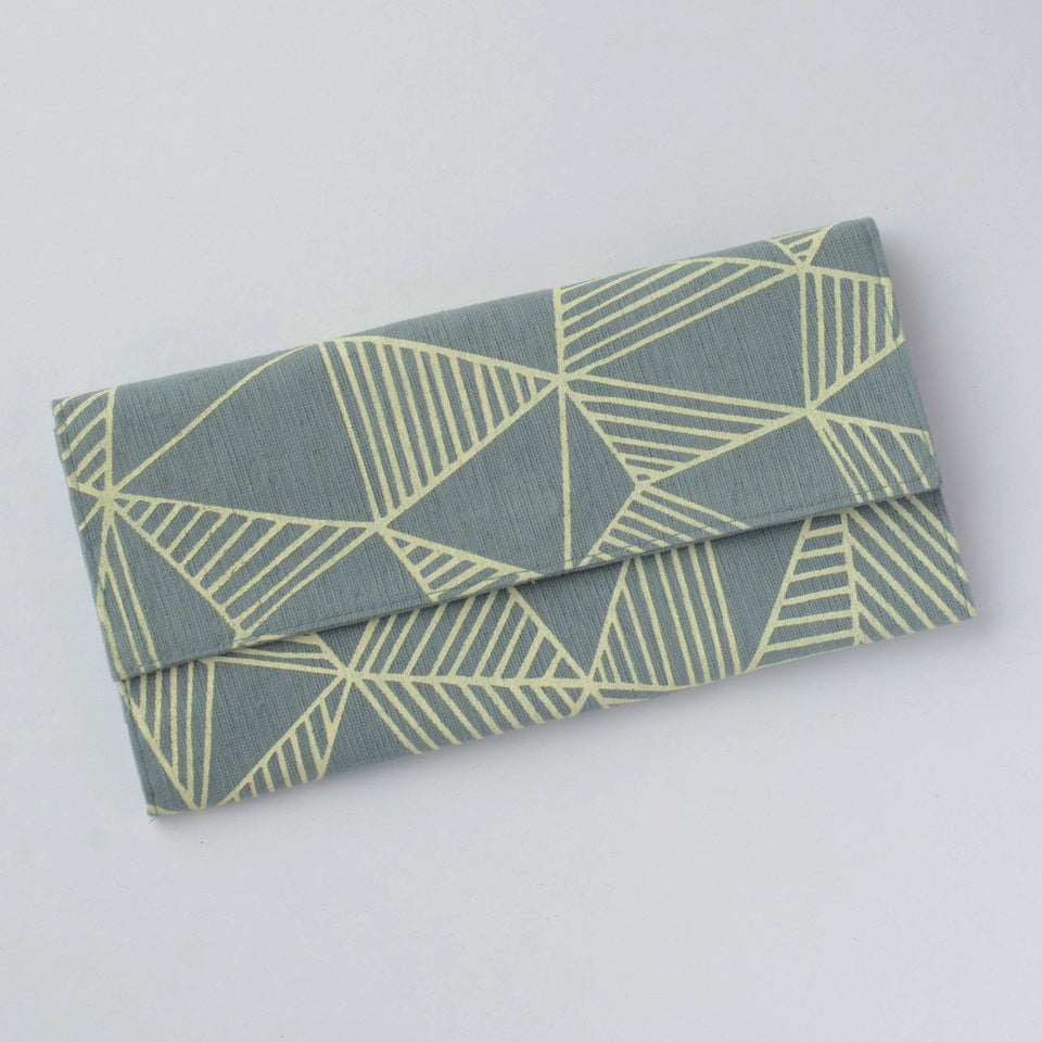 Whimsical Clutch Wallet - Tribal, Cambodia