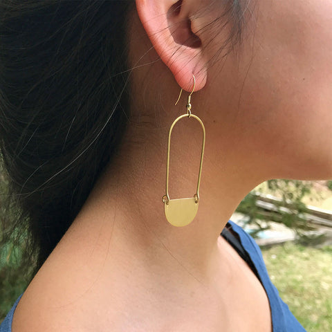 fair trade earrings handmade by women in India