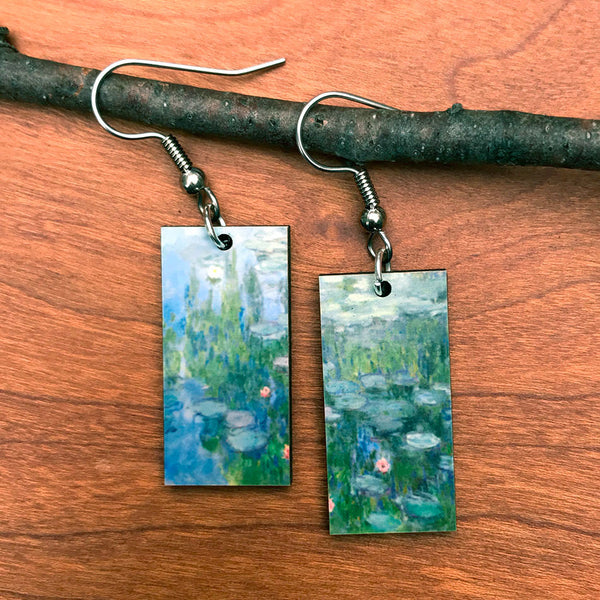 Fair trade earrings Monet handmade by women in Guatemala