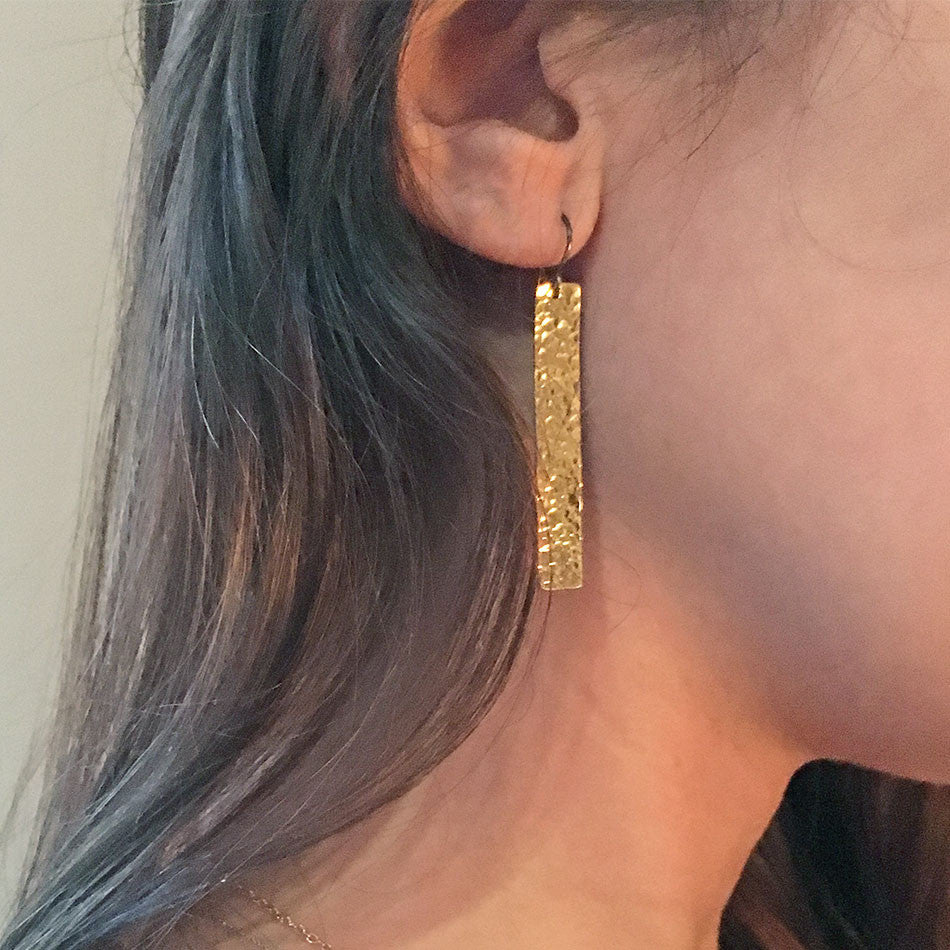 New Horizons Earrings - Gold, India