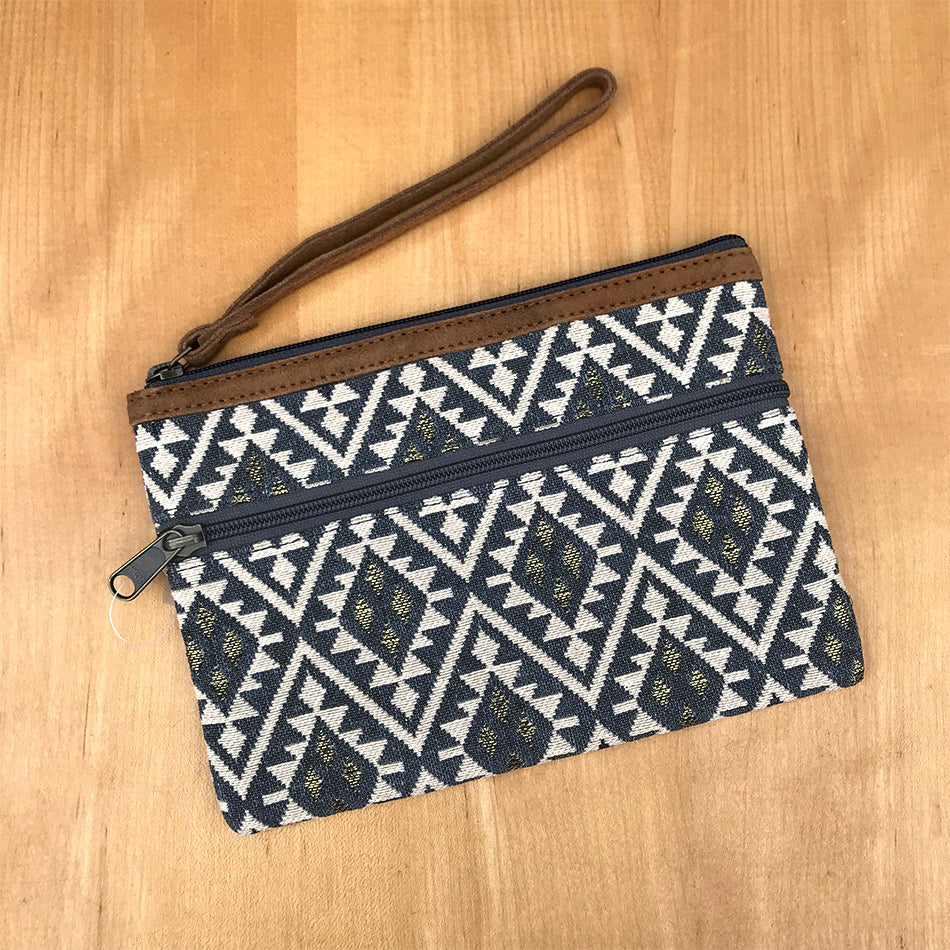 Fair trade clutch wallet handmade by women artisans in India