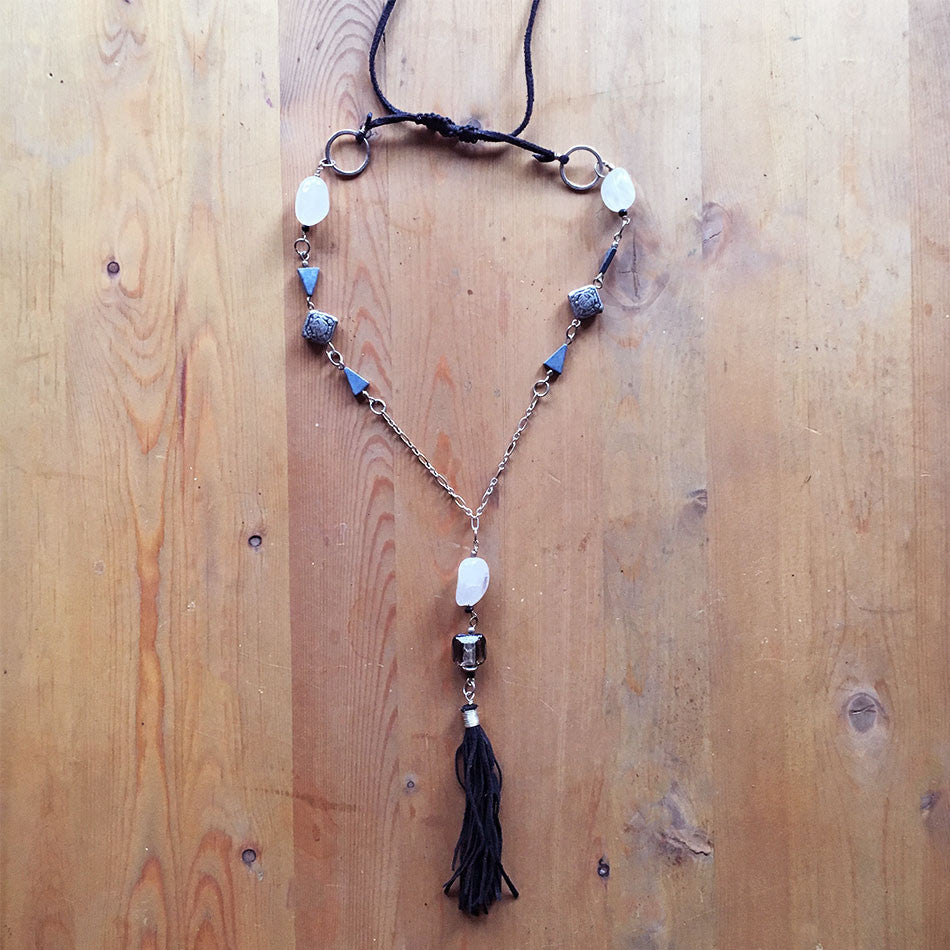 Boho Chic Tassel Necklace, India