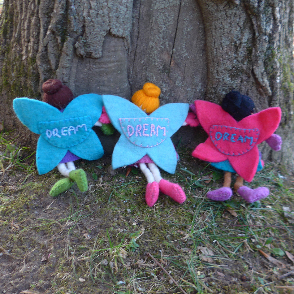 Felted Tooth Fairy Pillows, Nepal