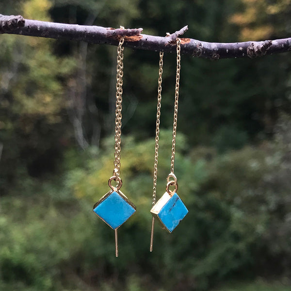 Fair trade earrings handmade by survivors of human trafficking