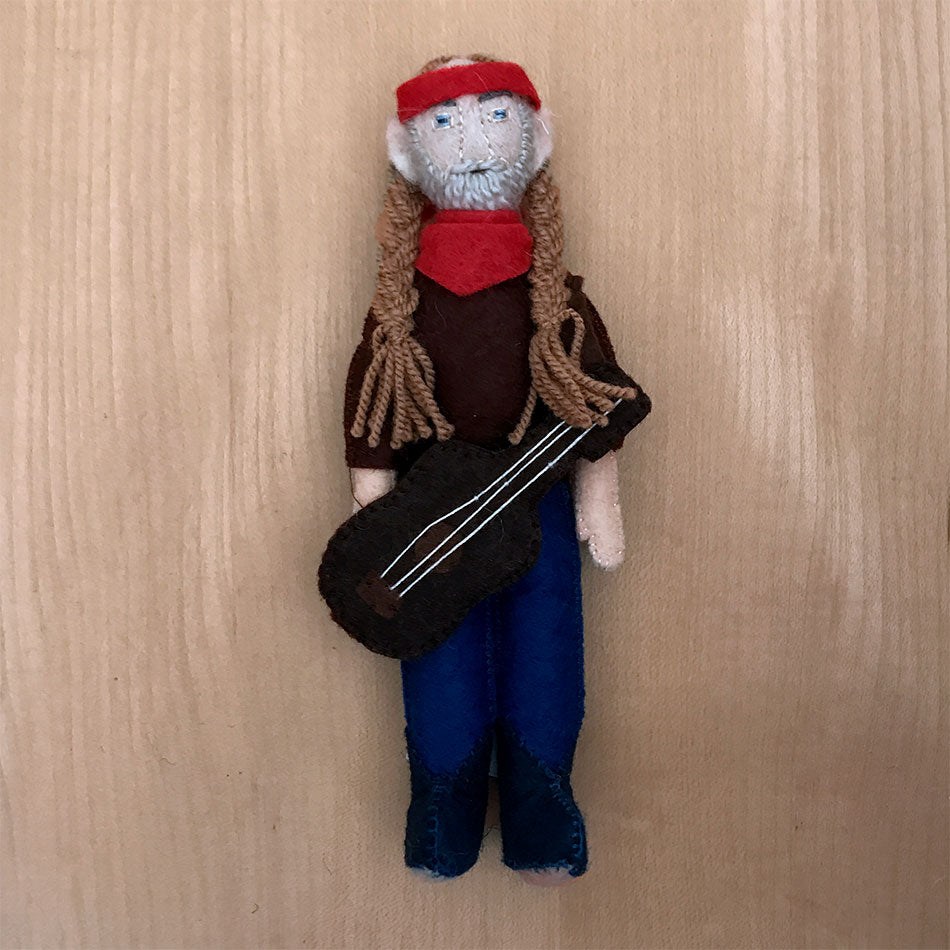 Willie Nelson Figurine/Ornament, Kyrgyzstan