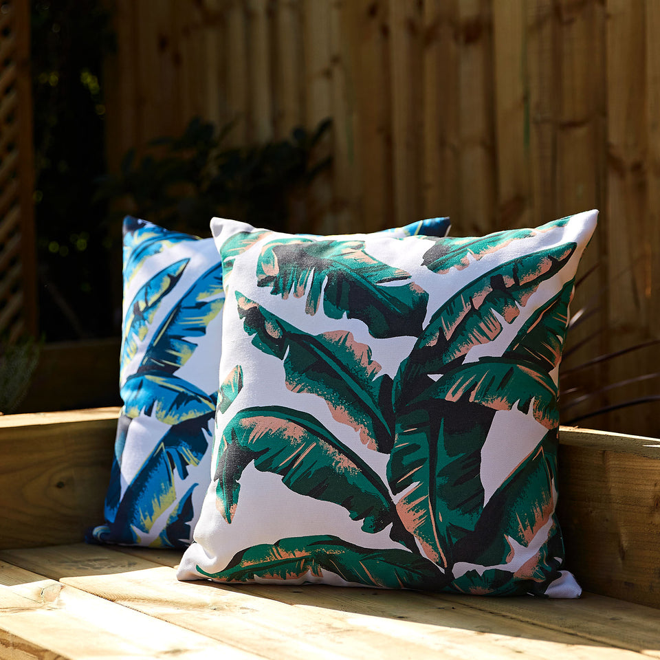 Palm Leaf Cushions | Made From Recycled Plastic