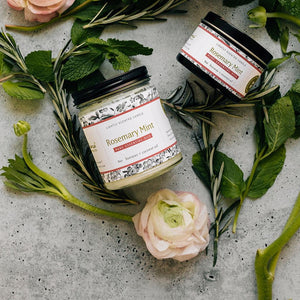 Rosemary Mint Essential Oil Candles
