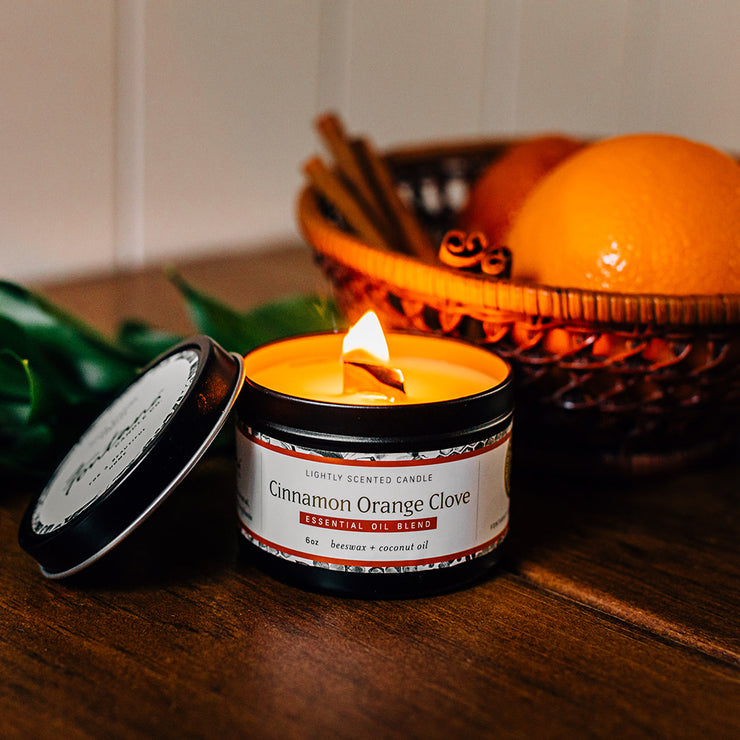 Cinnamon Orange Clove Essential Oil Candles