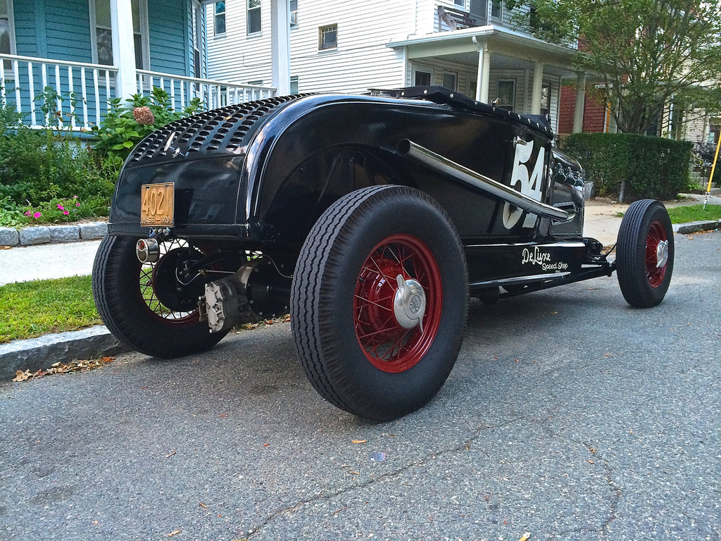 1929 Ford Model A Roadster Sold Millworks Hot Rod