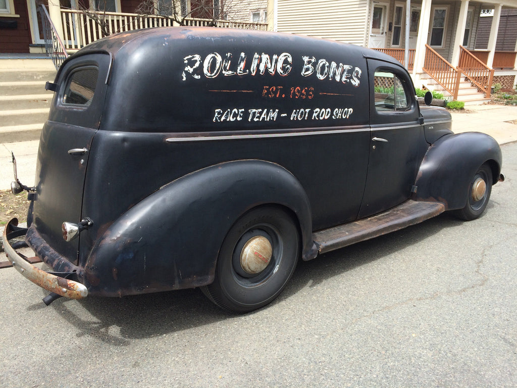 1940 Ford Delivery Sedan Deluxe (SOLD) – Millworks Hot Rod