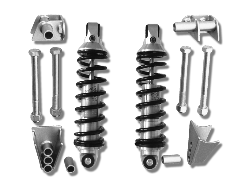 1928-31 Ford Model A Coil Shock Suspension Kit with Viper