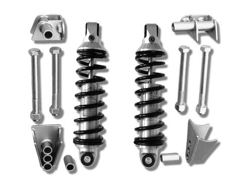 1928-31 Ford Model A Coil Shock Suspension Kit with Viper Alloy Shocks