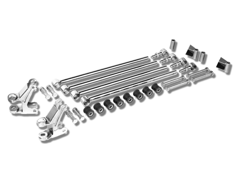 1933-34 Ford Hiboy 4-Bar Kit 2-1/4 inch Batwing