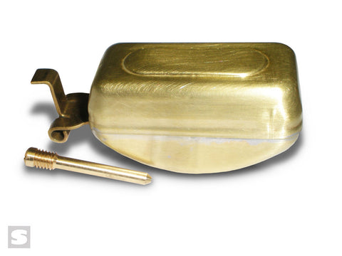 Brass float with hinge pin - Stromberg 97