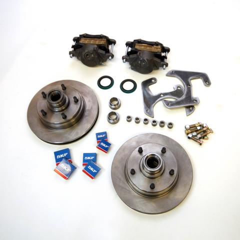 "Early Ford 5x5.5"" Front Disc Brake Conversion Kit 1937-1948"