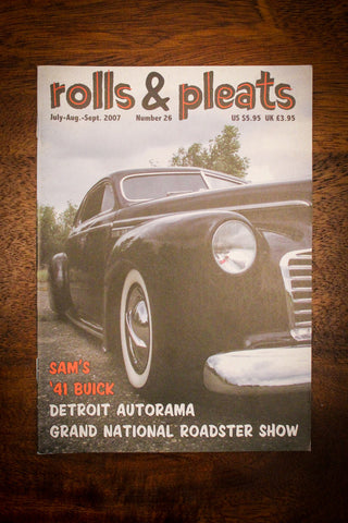 Rolls and Pleats Magazine Issue #26 2007