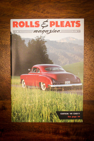 Rolls and Pleats Magazine Issue #39