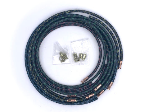 Copper Core Spark Plug Wire Set Color Coded Ford V8 1937-1948