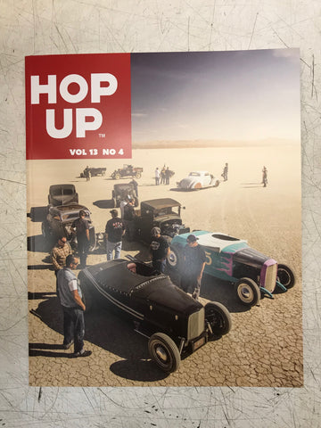 Hop Up Magazine Issue Volume 13 Issue #4