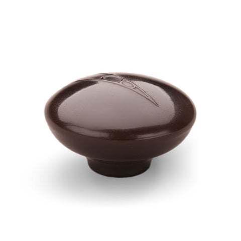 Early Top Loader V8 Shift Knob - Brown Raised