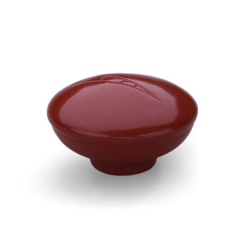 Early Top Loader V8 Shift Knob - Dark Red Inlay