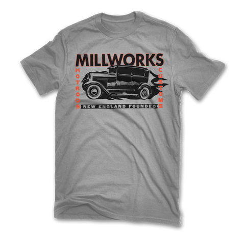 '29 Ford Tudor Short Sleeve T-Shirt - Gravel