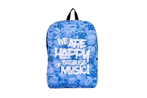 Sharmoofers Printed Backpack - qaafgallery