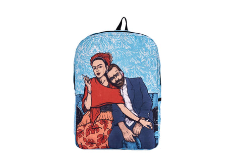 Van -Frida Printed Backpack - qaafgallery