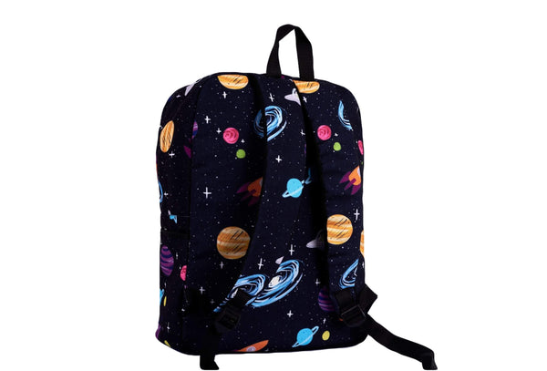 Galaxy Printed Backpack - qaafgallery