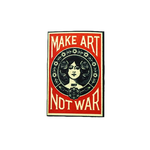Make art not war - qaafgallery