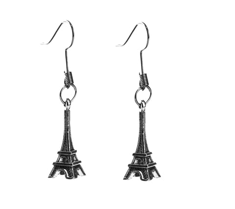 Eiffel Tower Earring - qaafgallery