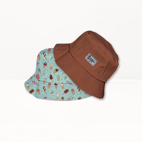 Ice cream Bucket Hat - qaafgallery