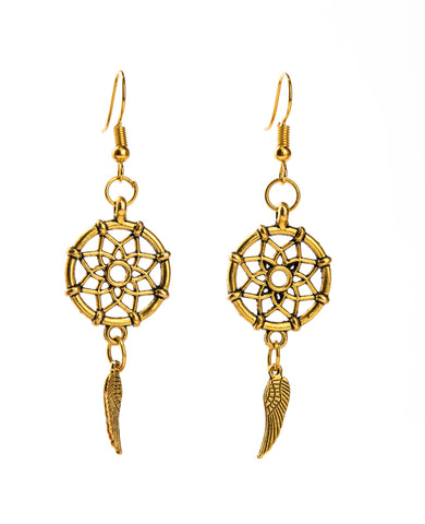 Dream Catcher Earring - qaafgallery