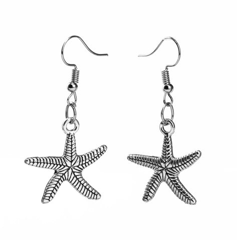Sea Star Earrings - qaafgallery