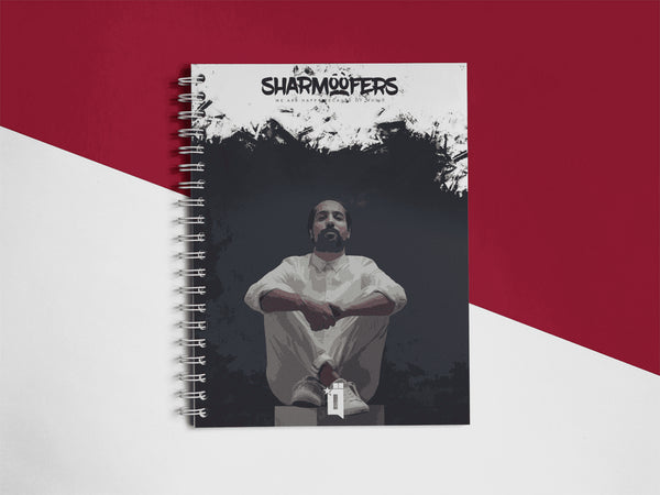 Sharmoofers Notebook - qaafgallery