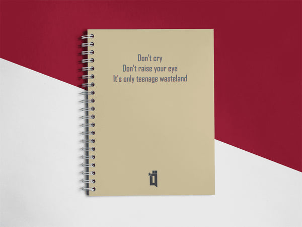 The Who Notebook - qaafgallery