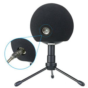 1 Pc Foam Mic Cover Artificial Fur Mic Windscreen Muff for Blue Snowball Microphone 13.5+11.5+7.5cm