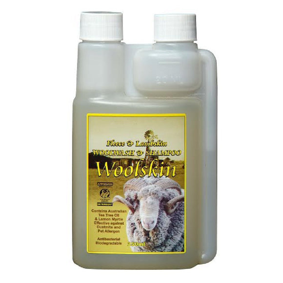 Woolskin Wool Wash and shampoo