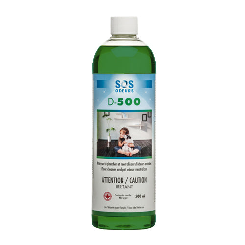 SOS D-500 Floor Cleaner and Pet Odour Neutralizer