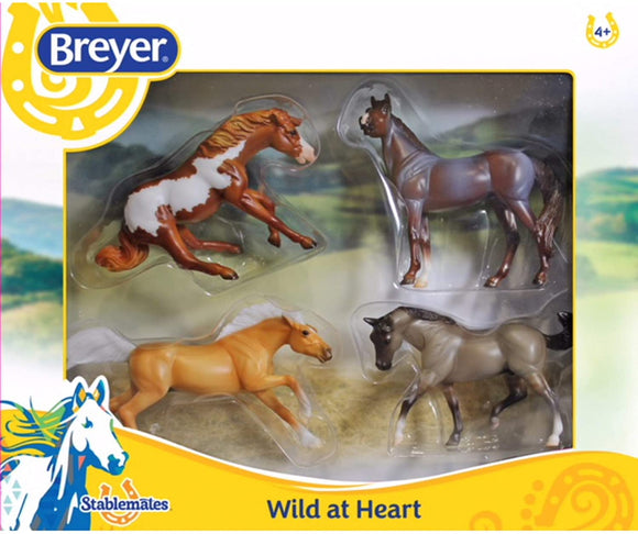 BREYER WIld at Heart GIft Set