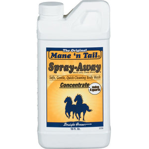 Mane'n Tail Spray Away Horse Wash Concentrate