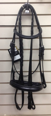 Bobby Padded Dressage Bridle- Full - Tack In The Box