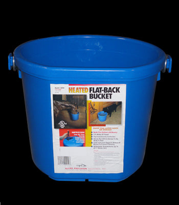 Heated Flat-Back Bucket - Tack In The Box