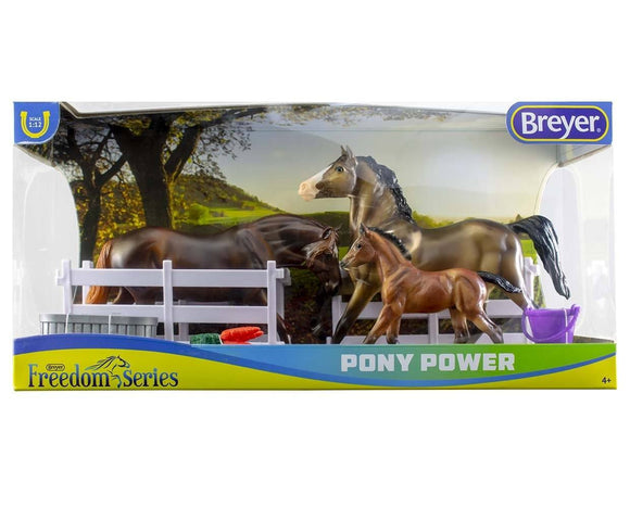 Breyer Pony Power Classics 3 Horse Set