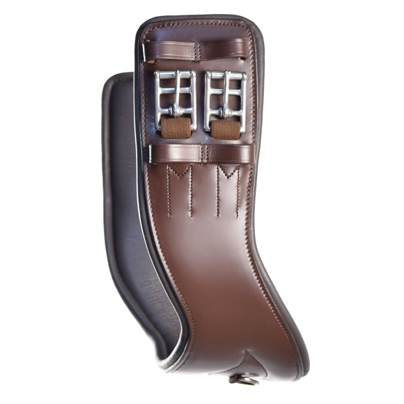 Total Saddle Fit Shoulder Relief Leather Dressage  Girth