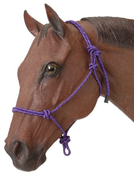 Poly Rope Tied Halter - Tack In The Box  - 3