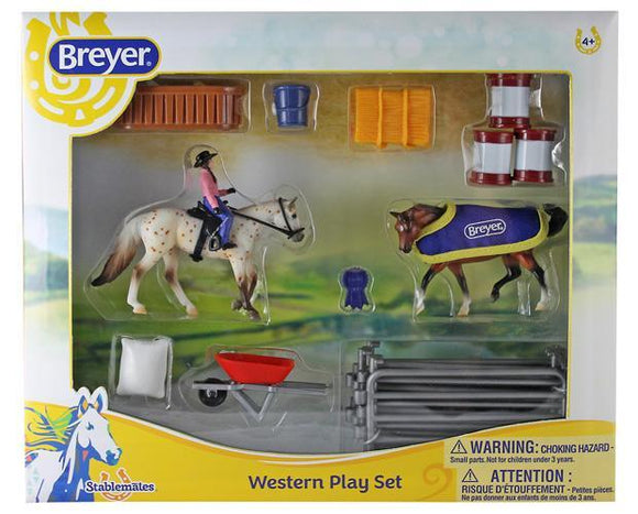 BREYER WESTERN PLAY SET